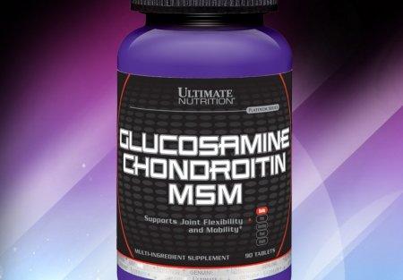 Обзор glucosamine chondroitin & msm