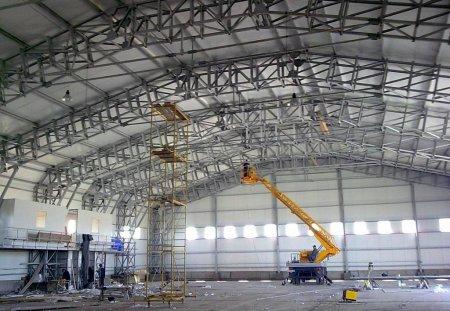 Строительство складов: особенности