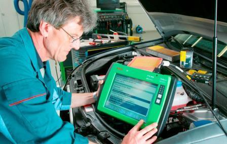 Применение сканера для диагностики авто.